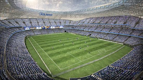Строительство стадиона Динамо - ВТБ Арена Парк: проект, фотографии, ход работ